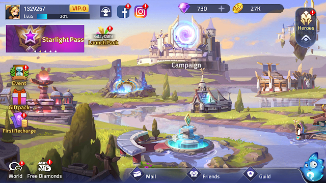Total size Game Mobile legends Adventure (MLA) - ML Kok Adventure!