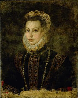 Anguissola's portrait of Queen Elizabeth of Spain