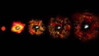 Científicos observan nacimiento de agujero negro