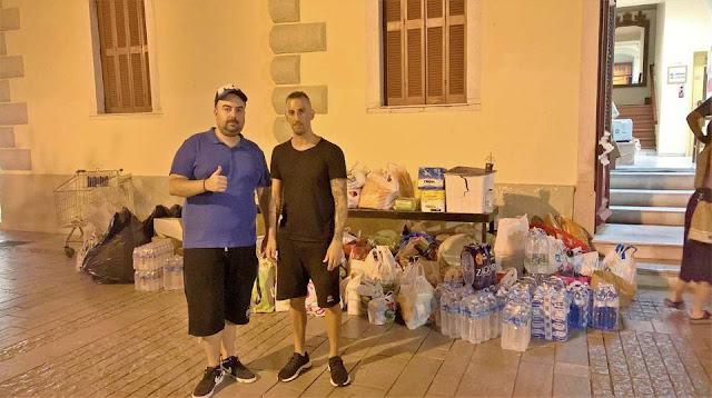 Με μεγάλη ανταπόκριση ξεκίνησε το διήμερο ανθρωπιστικής βοήθειας στο Ναύπλιο
