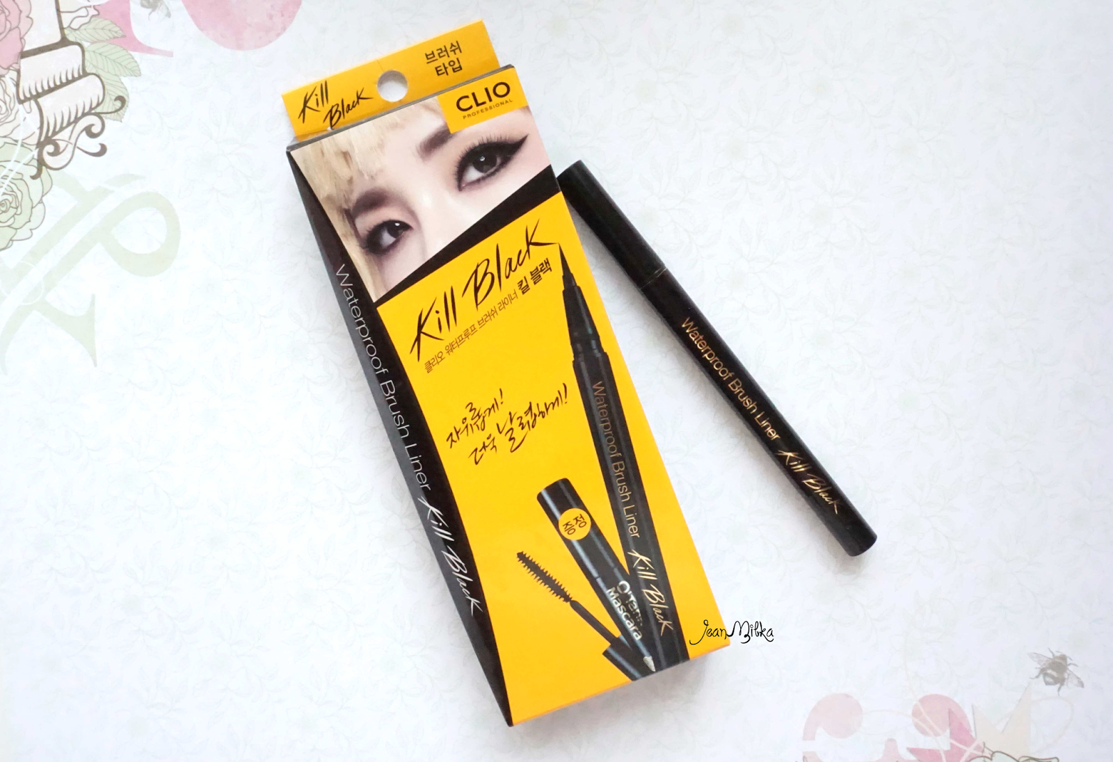 Clio, kill black, liquid, eyeliner, jeanmilka, product review