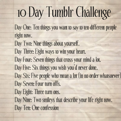 Day Eight~10 Day Challenge