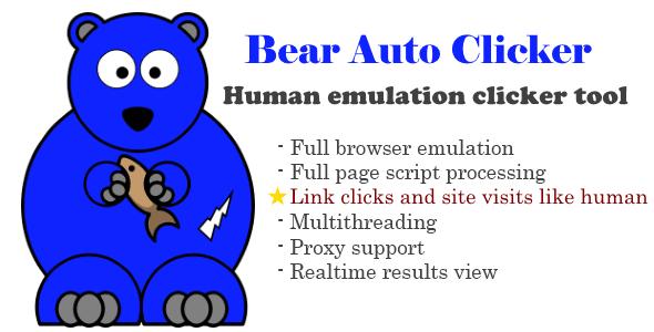 Bear Auto Clicker Download Grátis