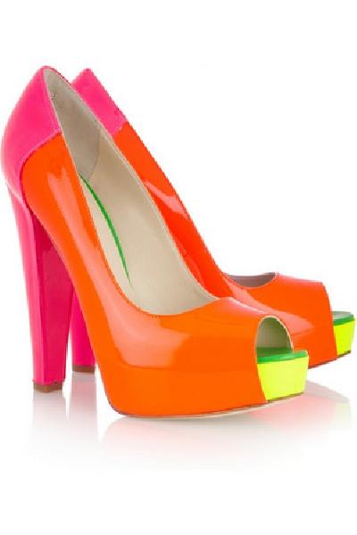 neon ayakkabı modeli