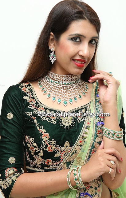 Komal Kalra Heavy Diamond Choker