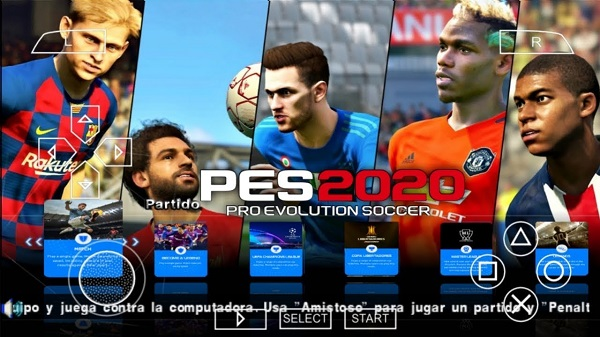 Download PES 2020 PPSSPP ISO
