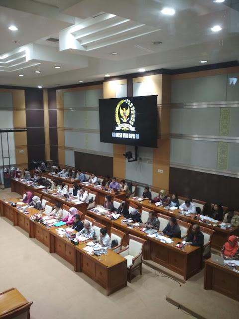 DPR RI Kembali Gelar Rapat Terbuka Membahas RUU PKS