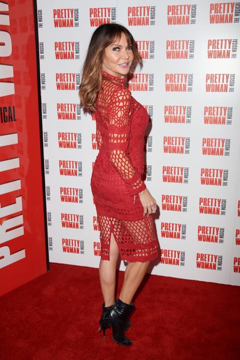 Lizzie Cundy Clicks at Pretty Women Press Night in London 2 Mar-2020