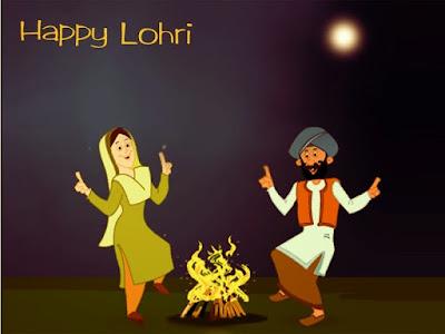 Happy Lohri Messages in Hindi Punjabi 2017