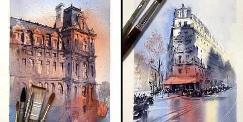00-Paris-Watercolors-Alex-Hillkurtz-www-designstack-co