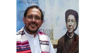 """El padre Jorge Cloro denunció que fue amenazado: """"Decile al cura que sólo haga misa""""."""