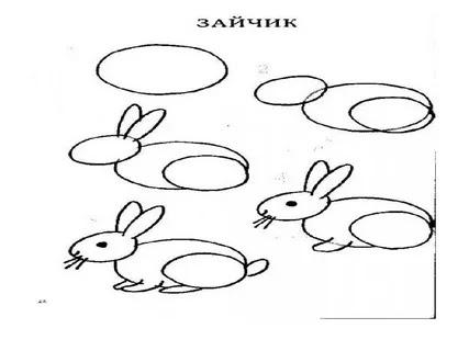 aprende a dibujar conejo