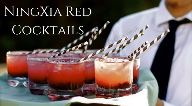 Serve up some #ningxia red at your next #cocktail party