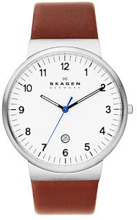 Skagen Analog White Dial Men's Watch - SKW6082