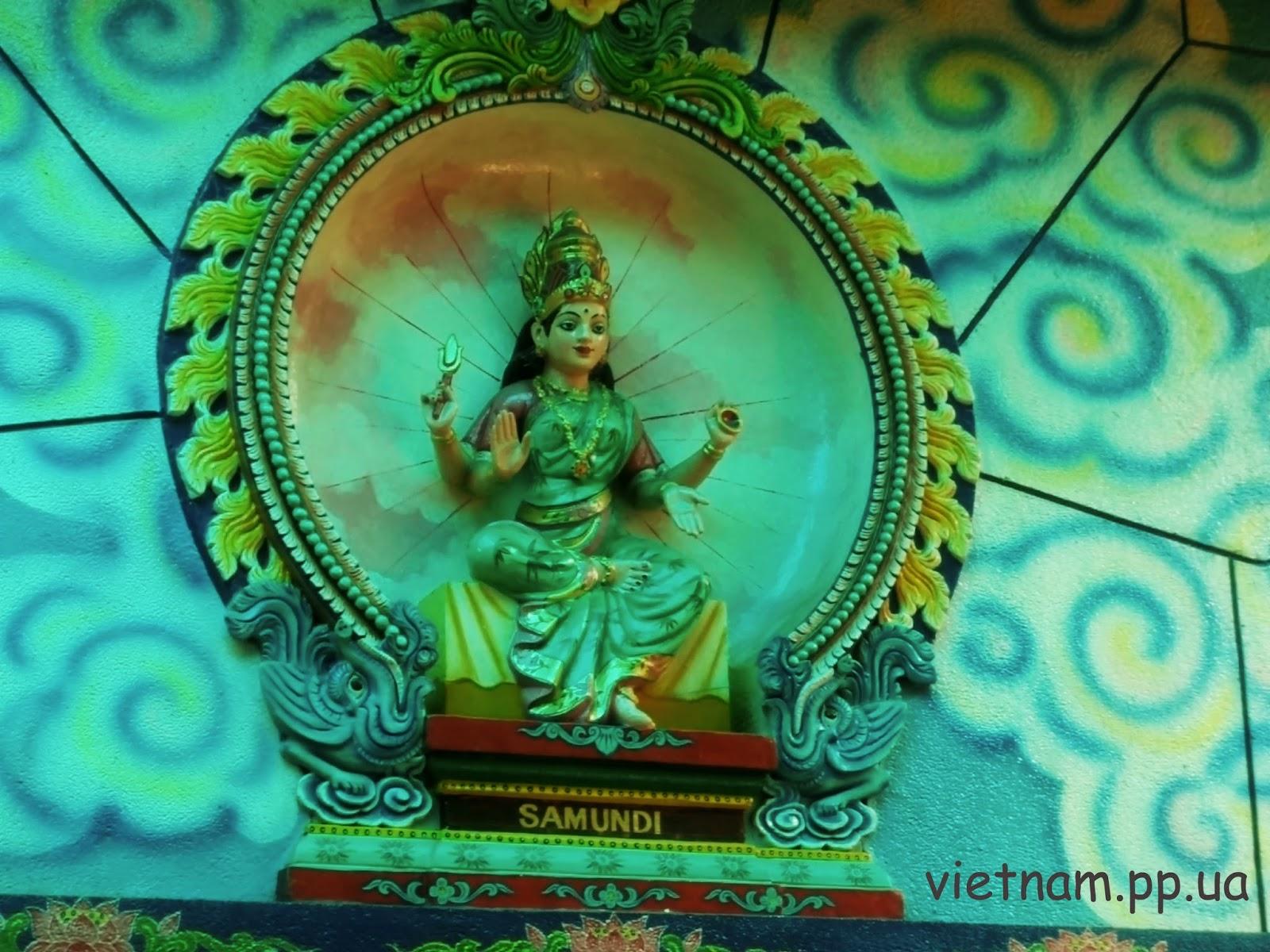 Божество хинди:Samundi