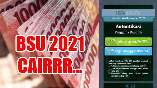 UPDATE TERKINI ! BSU Rp1,8 Juta Guru Honorer Sudah Mulai Cair, SEGERA Login di info.gtk.kemdikbud.go.id