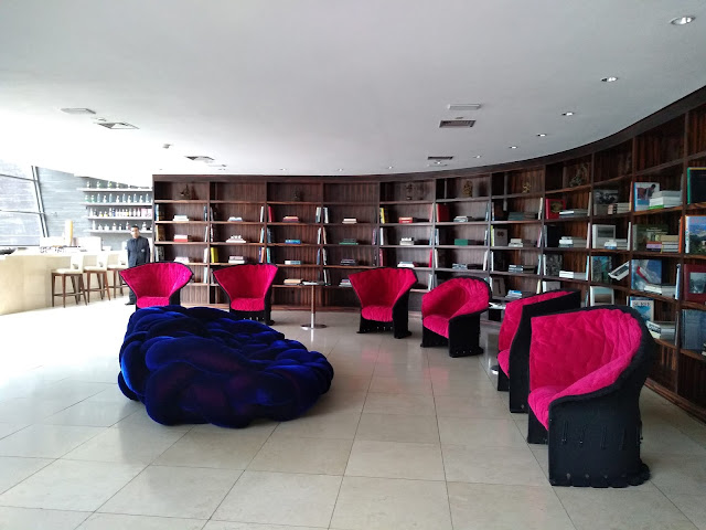 Biblioteca do Hotel Unique
