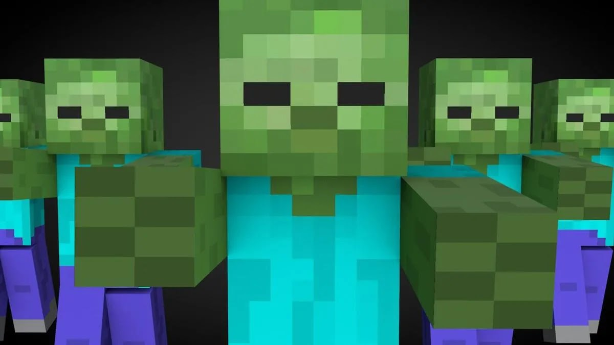 How to create and heal zombie villagers in Minecraft