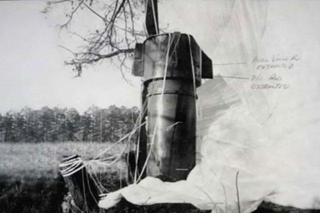 Kecelakaan Pesawat Pembom di Carolina Utara, AS (1961)