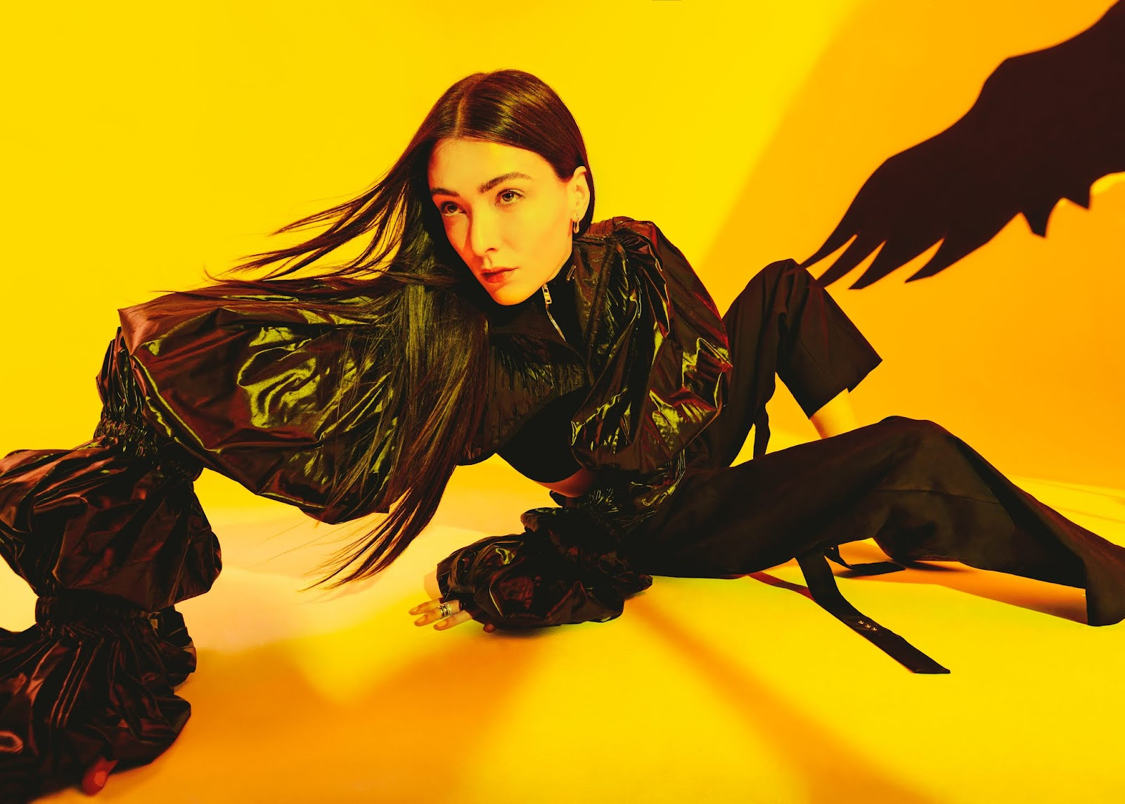 SMILE: Mar González in Numero Russia September 2021 by Ana Abril