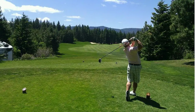 Banff is also known for its golfing options