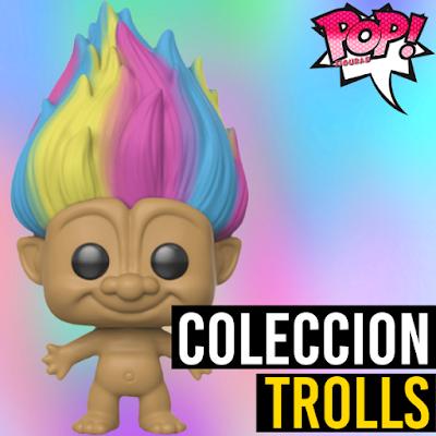 Lista de figuras funko pop Trolls