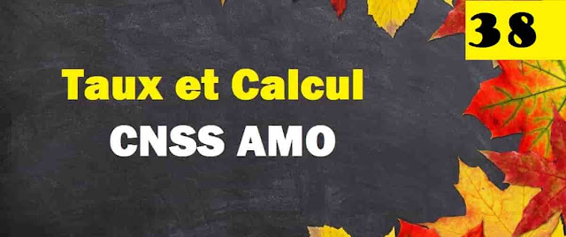 Taux  et  Calcule  CNSS  AMO  IR