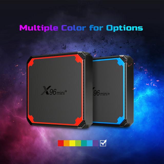 X96 MINI+ TV BOX a bom preço na Geekbuying