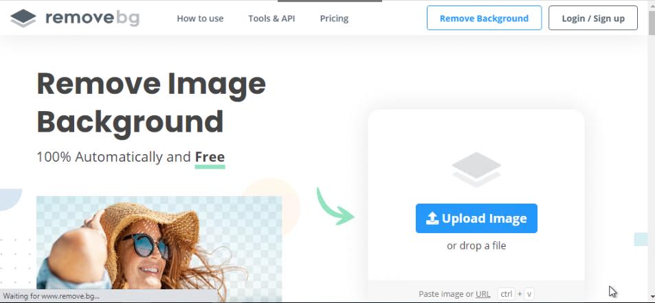 Cara Mengubah Background Gambar Menjadi Transparan - Kunjungi website remove.bg