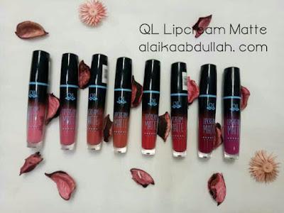 Lipstick produk lokal QL