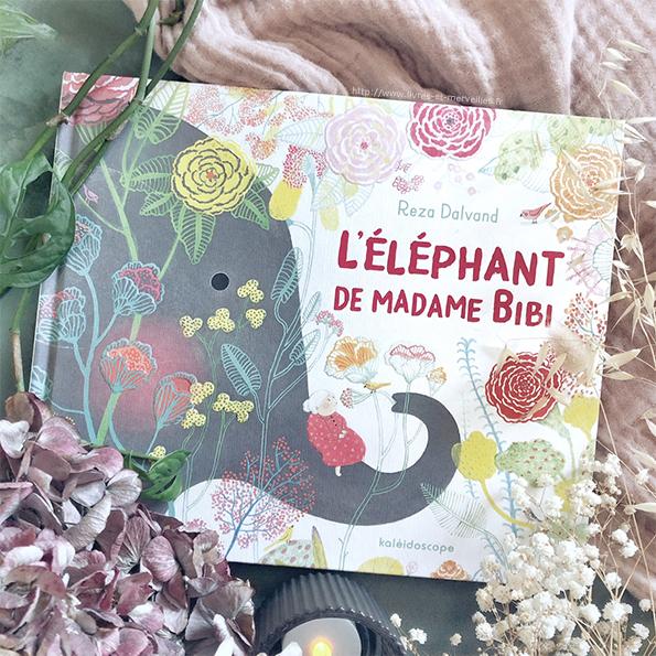 Album jeunesse : L'éléphant de Madame Bibi