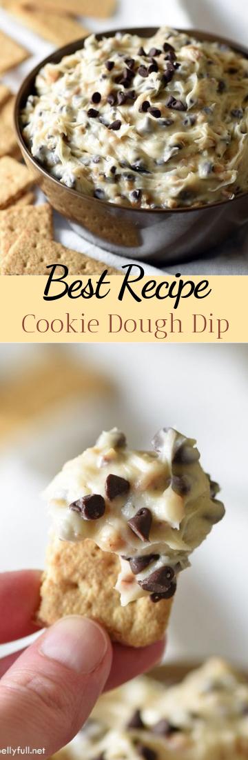 Cookie Dough Dip #desserts #cakerecipe