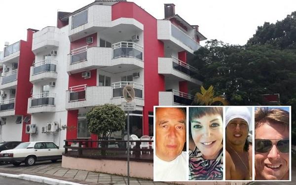 Resultado de imagem para Família é achada morta e amarrada em apart-hotel em Florianópolis