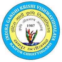 IGKV Raipur Recruitment-2020 ~ इंदिरा गांधी कृषि विश्वविद्यालय भर्ती