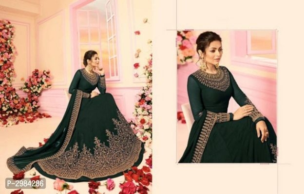 Fancy Georgette Ethnic Gowns