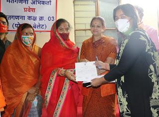 नेपानगर विधानसभा क्षेत्र की मतगणना शांतिपूर्ण संपन्न