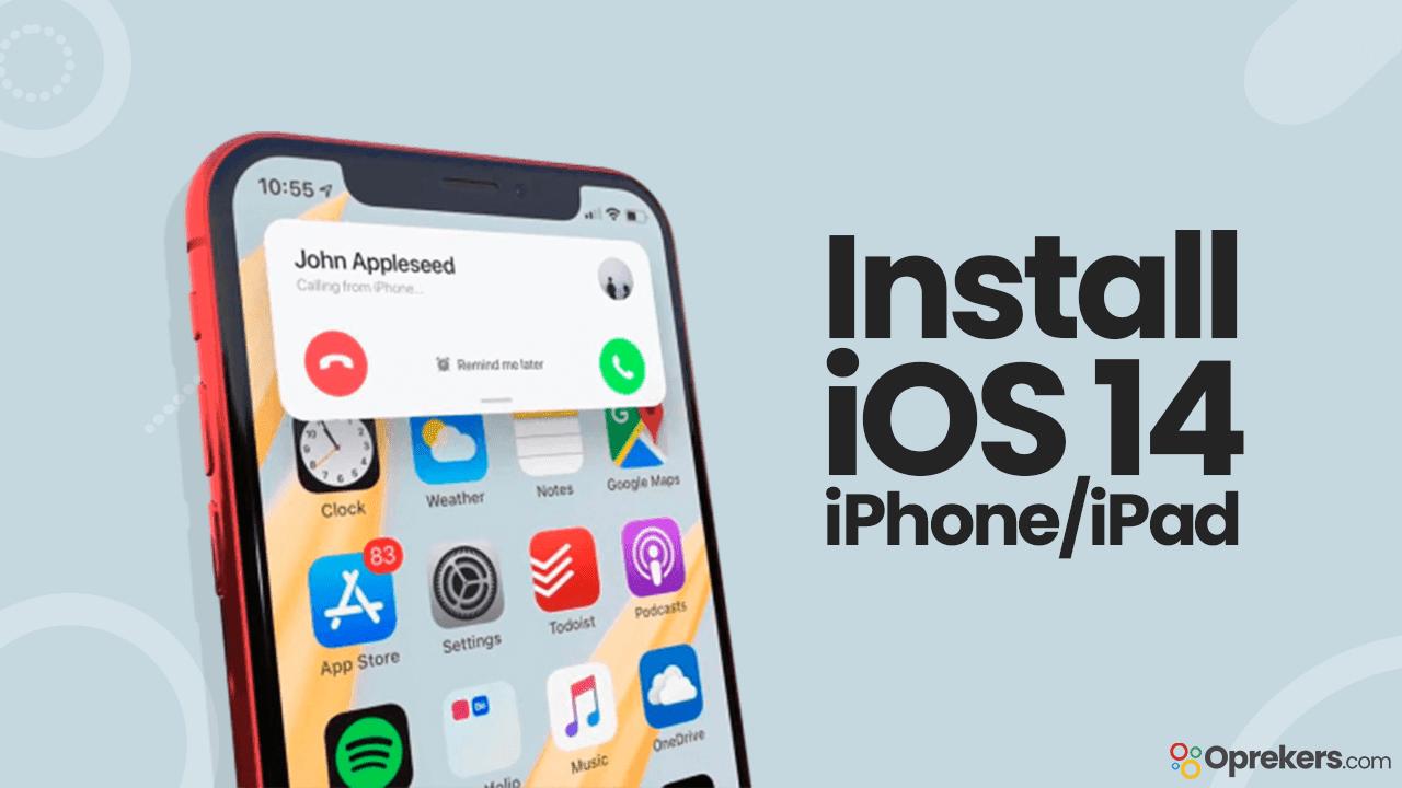 Cara Install iOS 14 di iPhone dan iPad