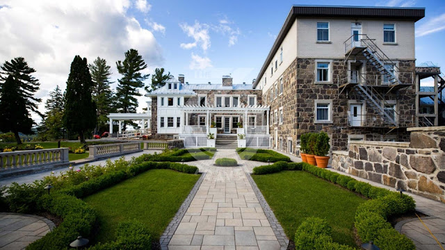 Canada: StoneHaven, the rebirth of a mansion