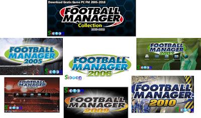 Situs Tempat Download Game Football Manager (FM) Lengkap 2005-2018