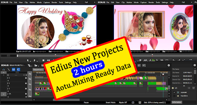 TWO 2  Hour Edius Ready Project Free DownloadEdius 7 8 9 Wedding New Project Free Download 2020