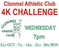 Clonmel 4k Series - Wed 31st Oct - 28th Nov 2018