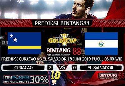 PREDIKSI CURACAO VS EL SALVADOR 18 JUNI 2019