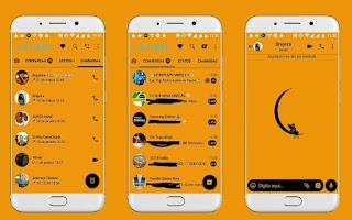 Moon On Fairy Theme For YOWhatsApp & Fouad WhatsApp By Leidiane