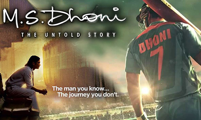 M.S. Dhoni: The Untold Story Tax Free in Jharkhand