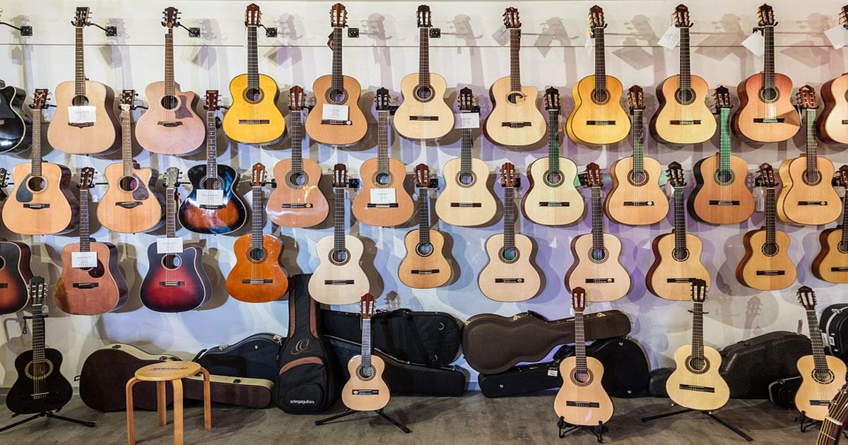 cách lựa chọn đàn guitar tốt