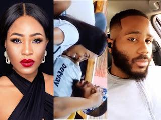 #BBNaija2020: 'Kiddwaya Don Score?' - Fans Drag Erica To Undergo Pregnancy Test As She Falls Sick After Having S*x With Kiddwaya
