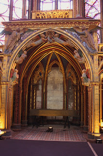 Alter for Crown of Thorns inside of Sainte Chapelle