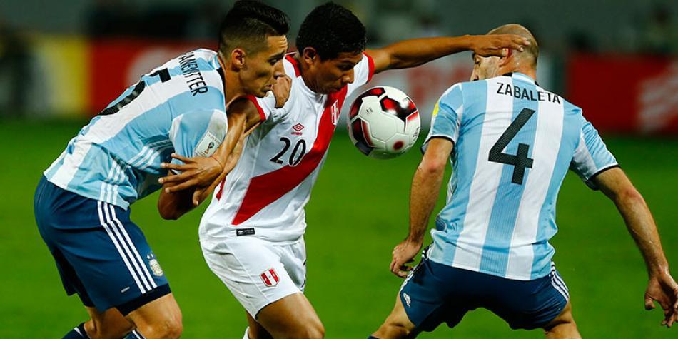 Argentina vs Perú EN VIVO por la Clasificatorias