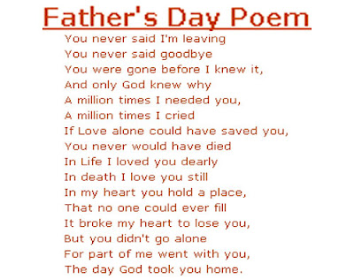Fathers days Poems, Fathers days Poems 2016,