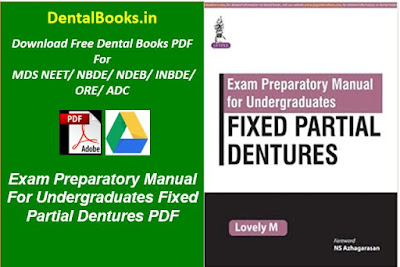 Exam Preparatory Manual For Undergraduates Fixed Partial Dentures PDF